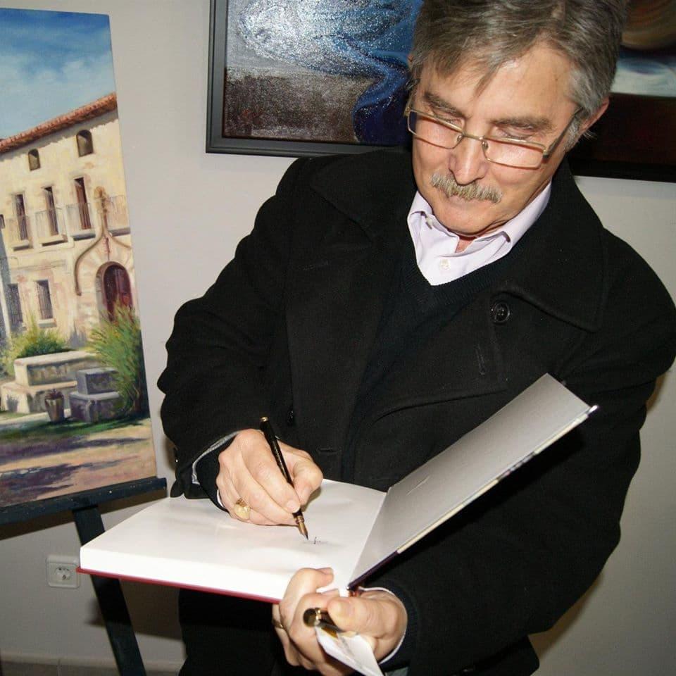 LA CASA DE ANDALUCÍA NOMBRA AL PINTOR PEDRO BAOS SOCIO DE HONOR.