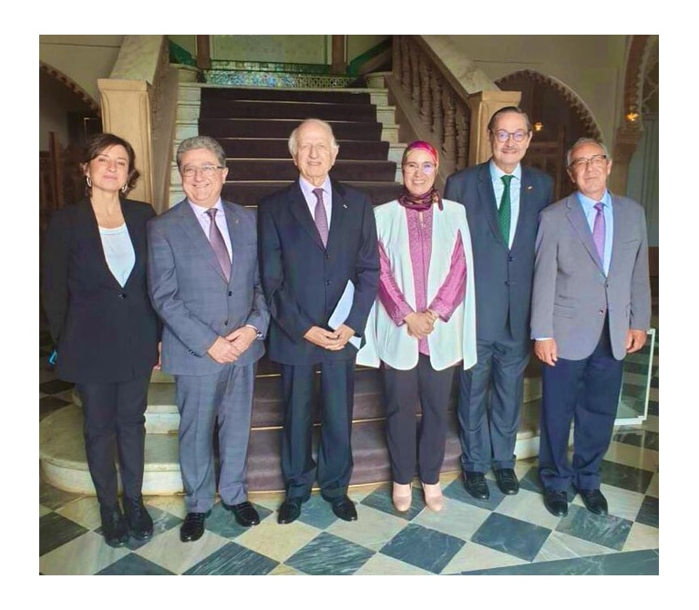 Viaje diplomático a Marruecos de J. Enrique Millo y la F. tres culturas.
