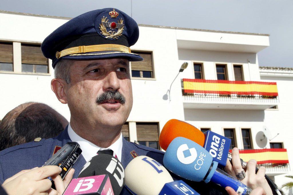 Carlos de Palma. Coronel del Ejercito del Aire en la Reserva